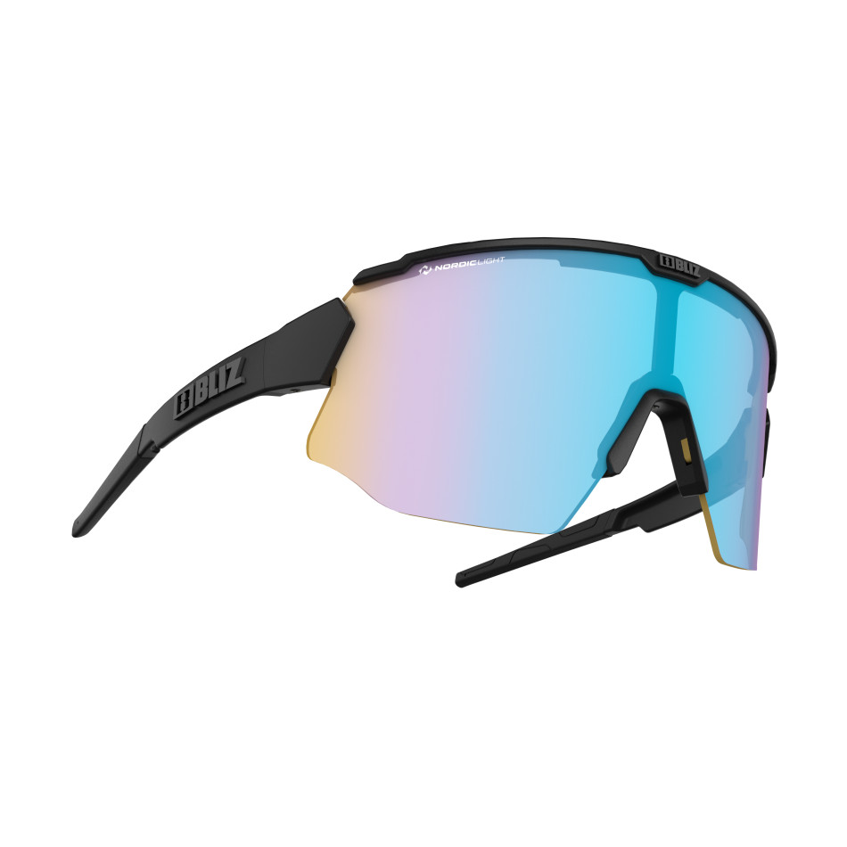 Športové slnečné okuliare Bliz Breeze Nordic Light Black Coral