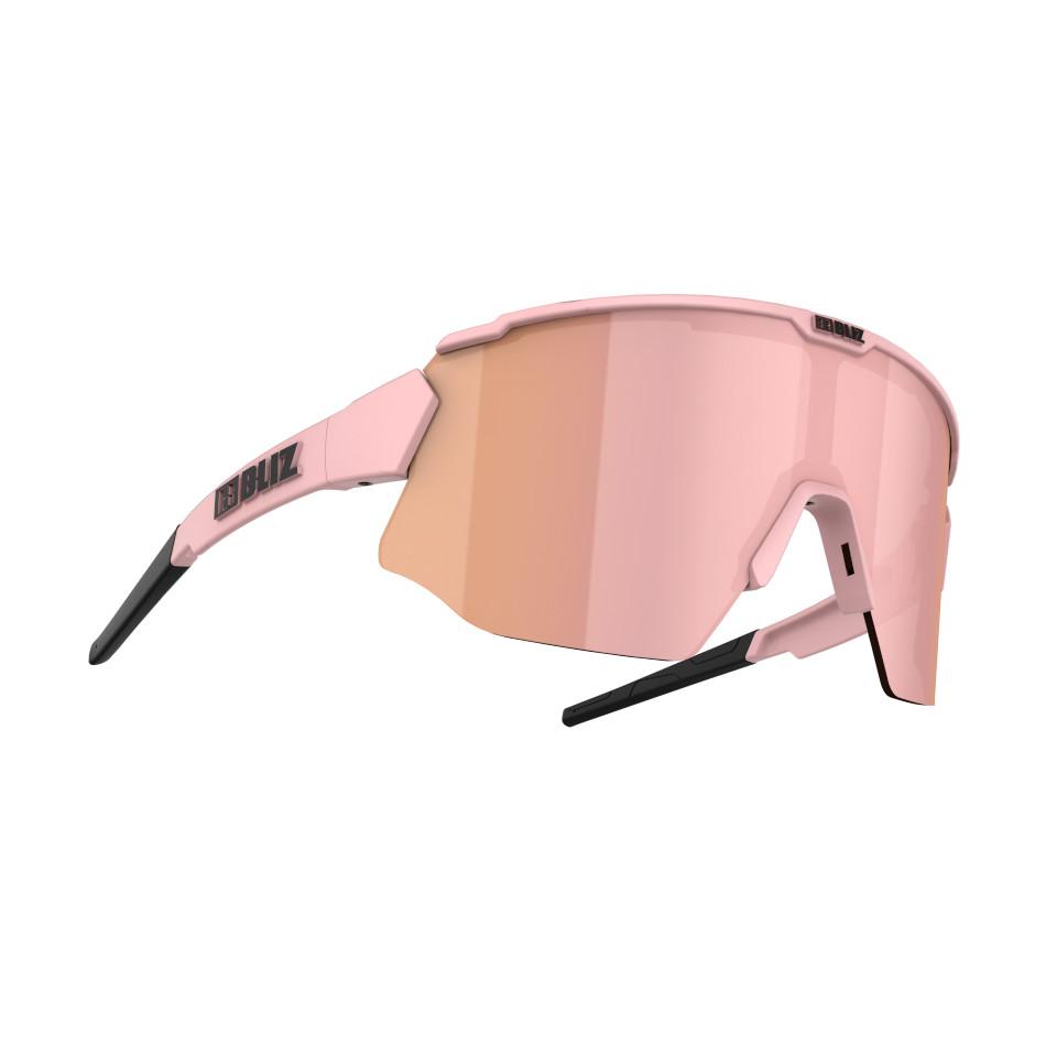 Športové slnečné okuliare Bliz Breeze Matt Powder Pink