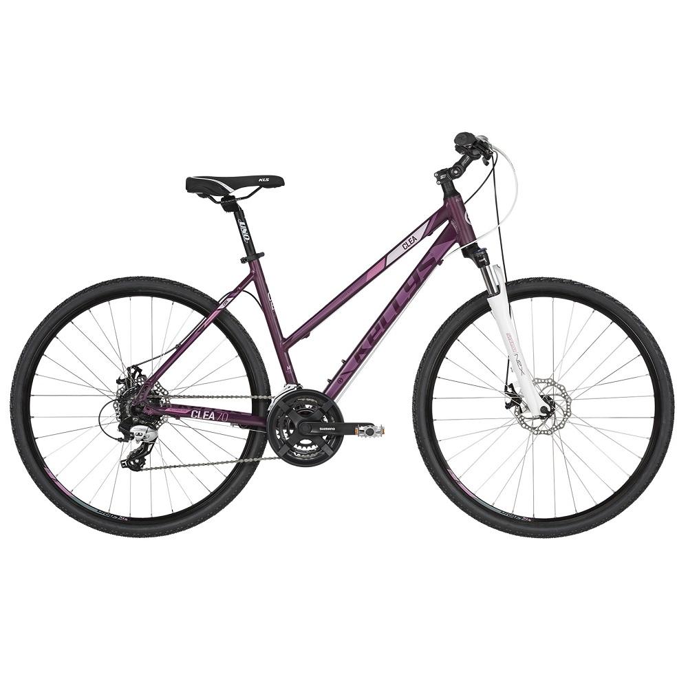 "Dámsky crossový bicykel KELLYS CLEA 70 28"" - model 2019 Violet - S (17'') - Záruka 10 rokov"