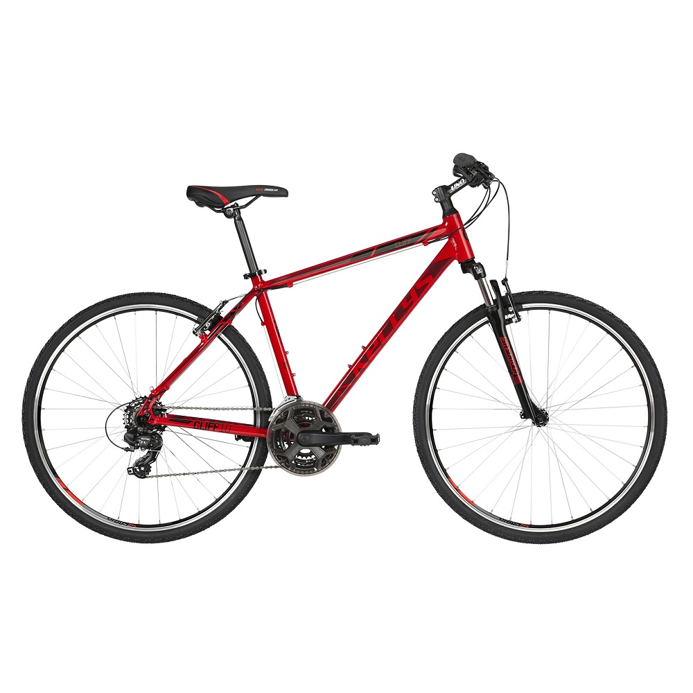 """Pánsky crossový bicykel KELLYS CLIFF 10 28"""" - model 2019 Red - S (17'') - Záruka 10 rokov"""