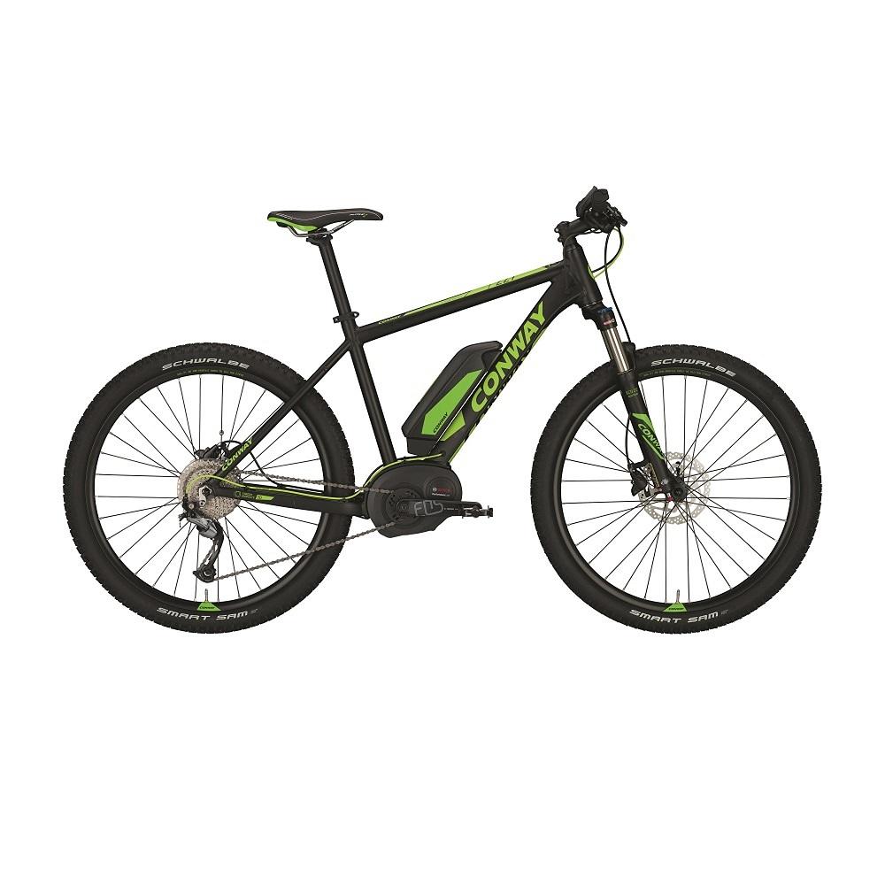 """Horský elektrobicykel Conway EMR 227 SE 27,5'' - model 2017 15,75"""" - Záruka 10 rokov"""