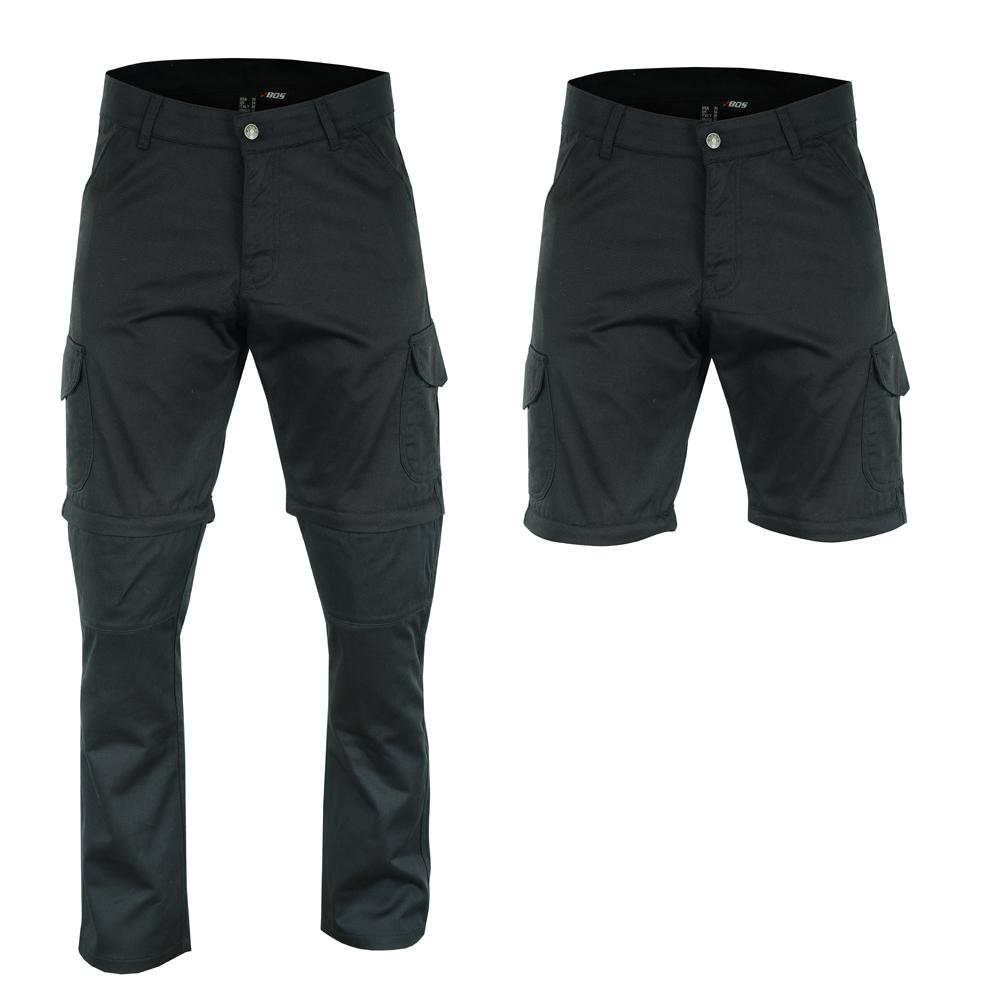 Moto nohavice BOS Cargo čierna - 40