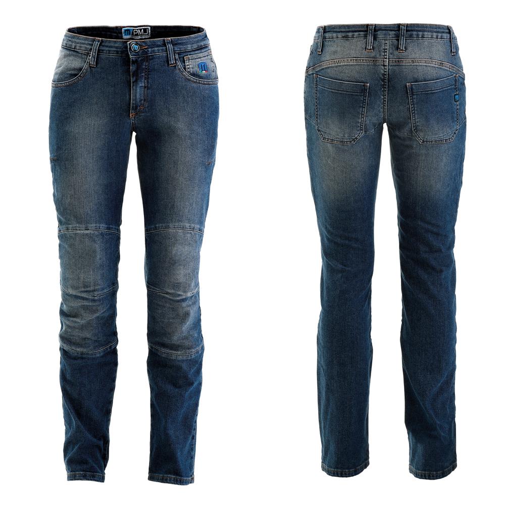Dámske moto jeansy PMJ Carolina CE