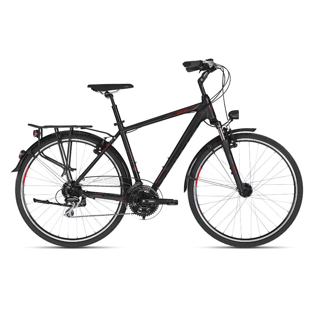 """Pánsky trekingový bicykel KELLYS CARSON 60 28"""" - model 2018 L - Záruka 10 rokov"""