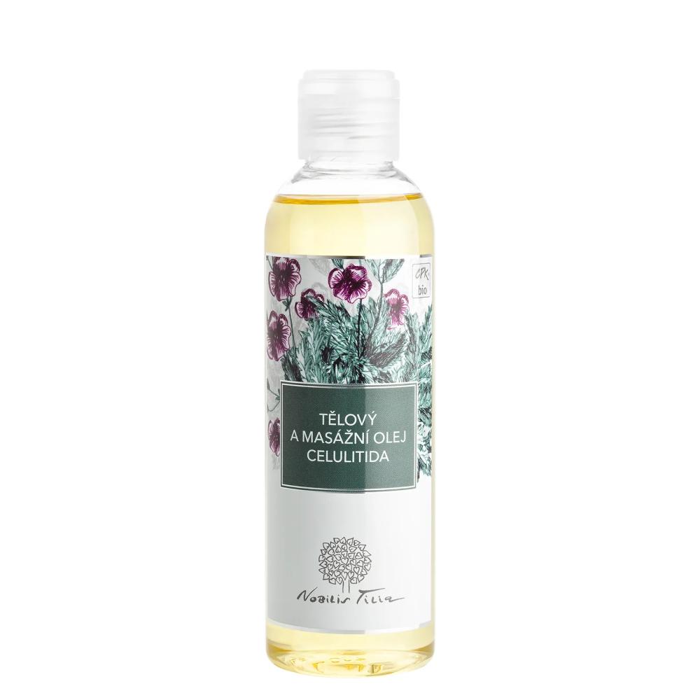 Telový a masážny olej Nobilis Tilia Celulitída 200 ml