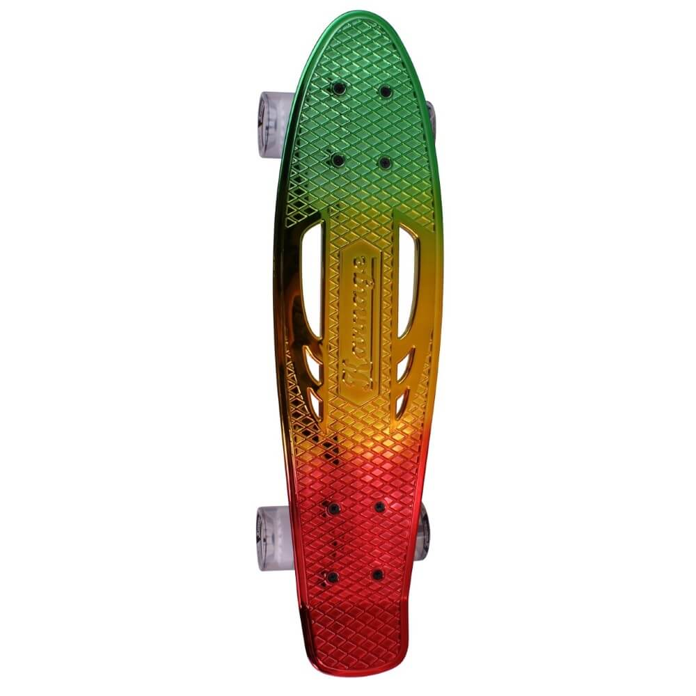 Pennyboard Karnage Chrome Retro Transition modro-fialovo-ružová