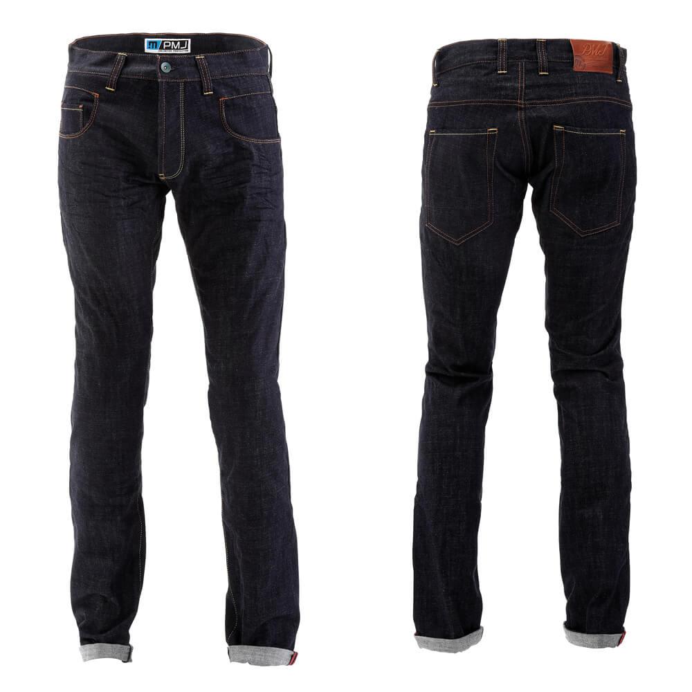 Pánske moto jeansy PMJ City modrá - 30