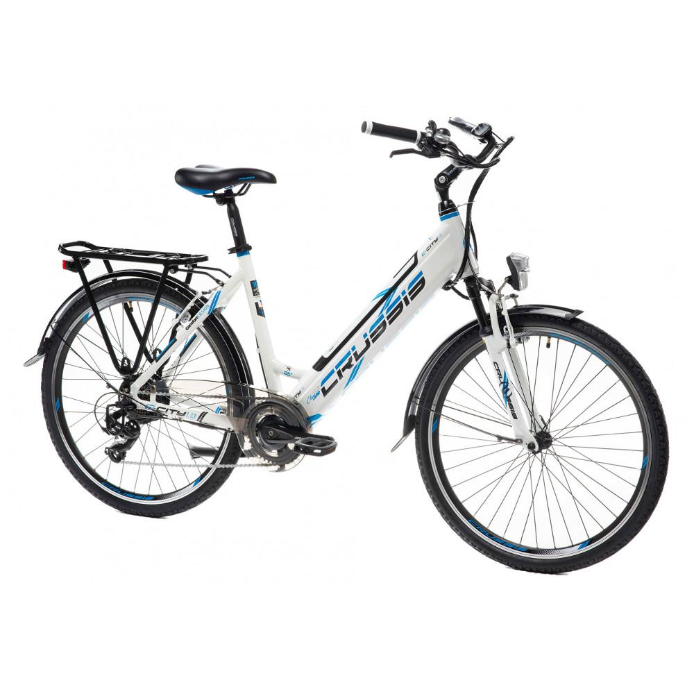 """Mestský elektrobicykel Crussis e-City 1.13 - model 2021 17"""" - Záruka 10 rokov"""