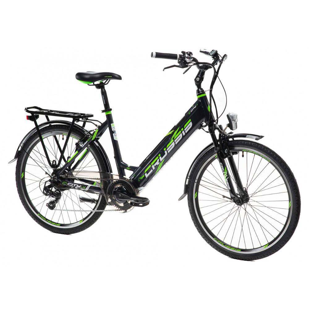 """Mestský elektrobicykel Crussis e-City 1.14 - model 2021 17"""" - Záruka 10 rokov"""