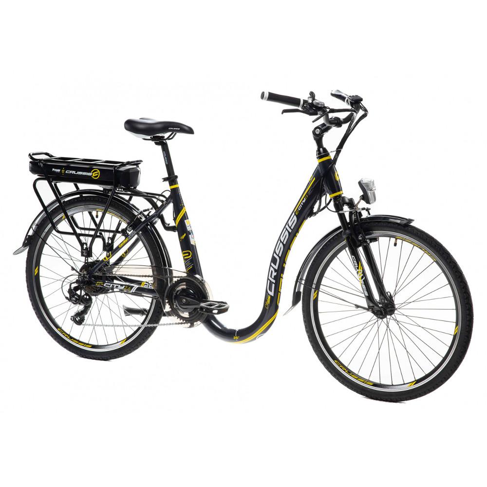Mestský elektrobicykel Crussis s nízkym nástupom e-City 2.6 - model 2021 - Záruka 10 rokov