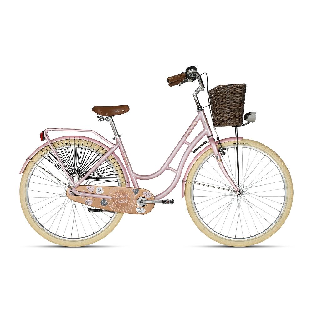 "Mestský bicykel KELLYS CLASSIC DUTCH 28"" - model 2019 Coral - 18"" - Záruka 10 rokov"