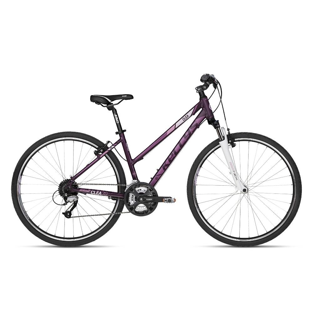 """Dámsky crossový bicykel KELLYS CLEA 70 28"""" - model 2018 Violet - 17"""" - Záruka 10 rokov"""