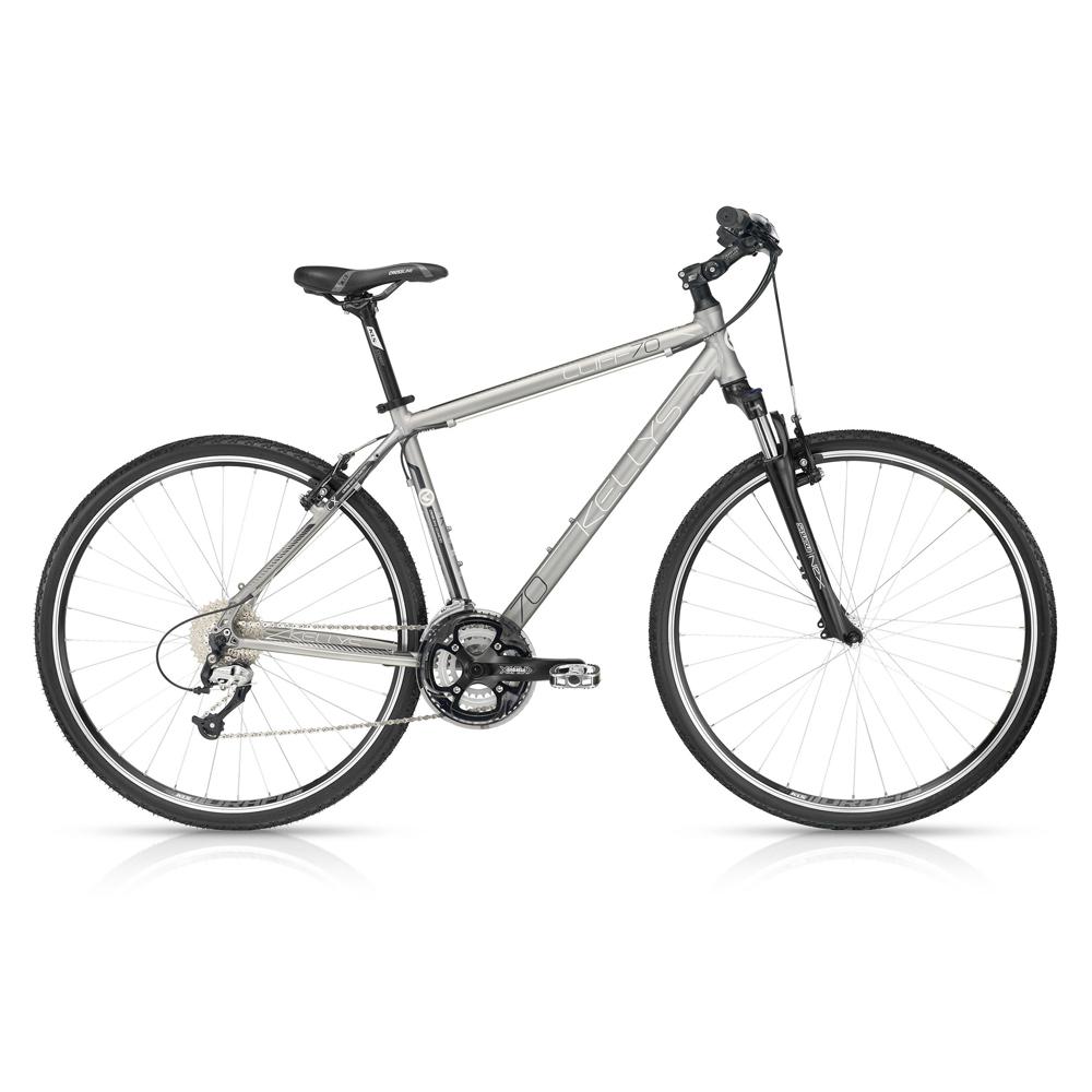 Pánsky crossový bicykel KELLYS CLIFF 70 Silver 28