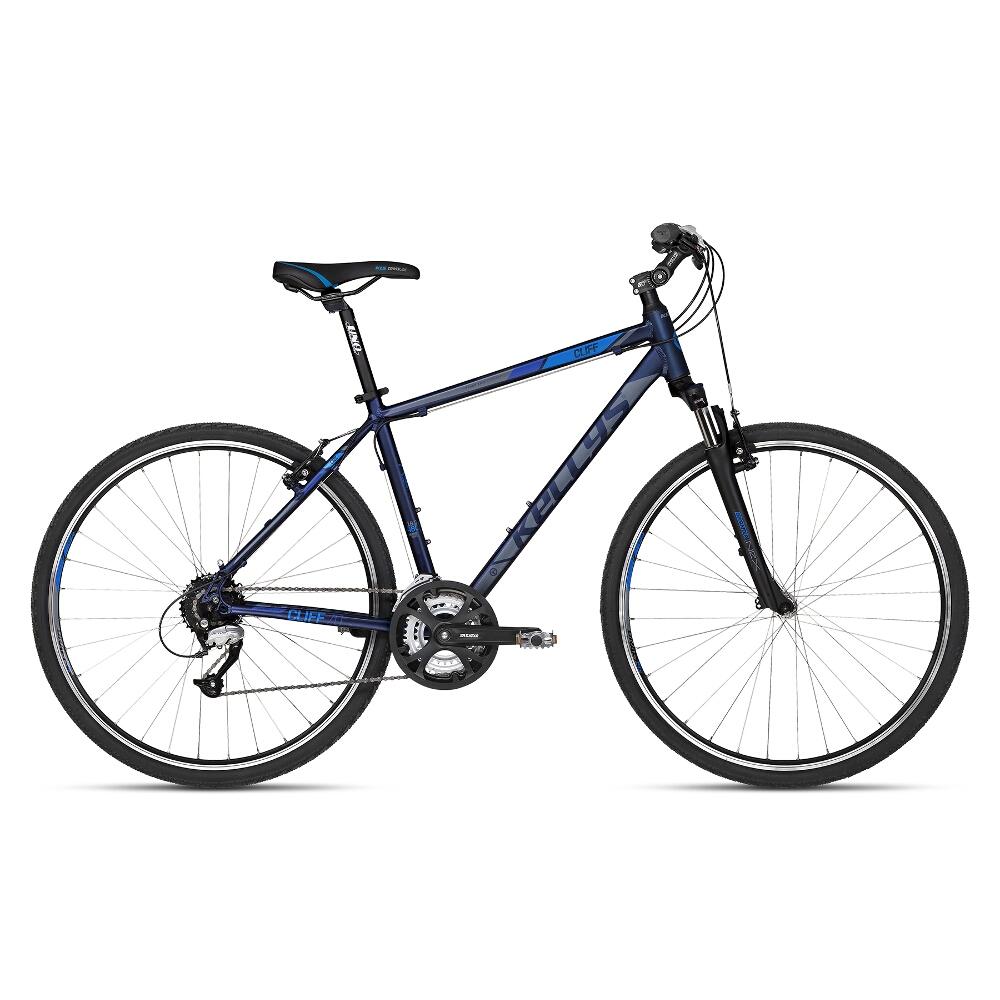 """Pánsky crossový bicykel KELLYS CLIFF 70 28"""" - model 2018 blue - 430 mm (17"""") - Záruka 10 rokov"""