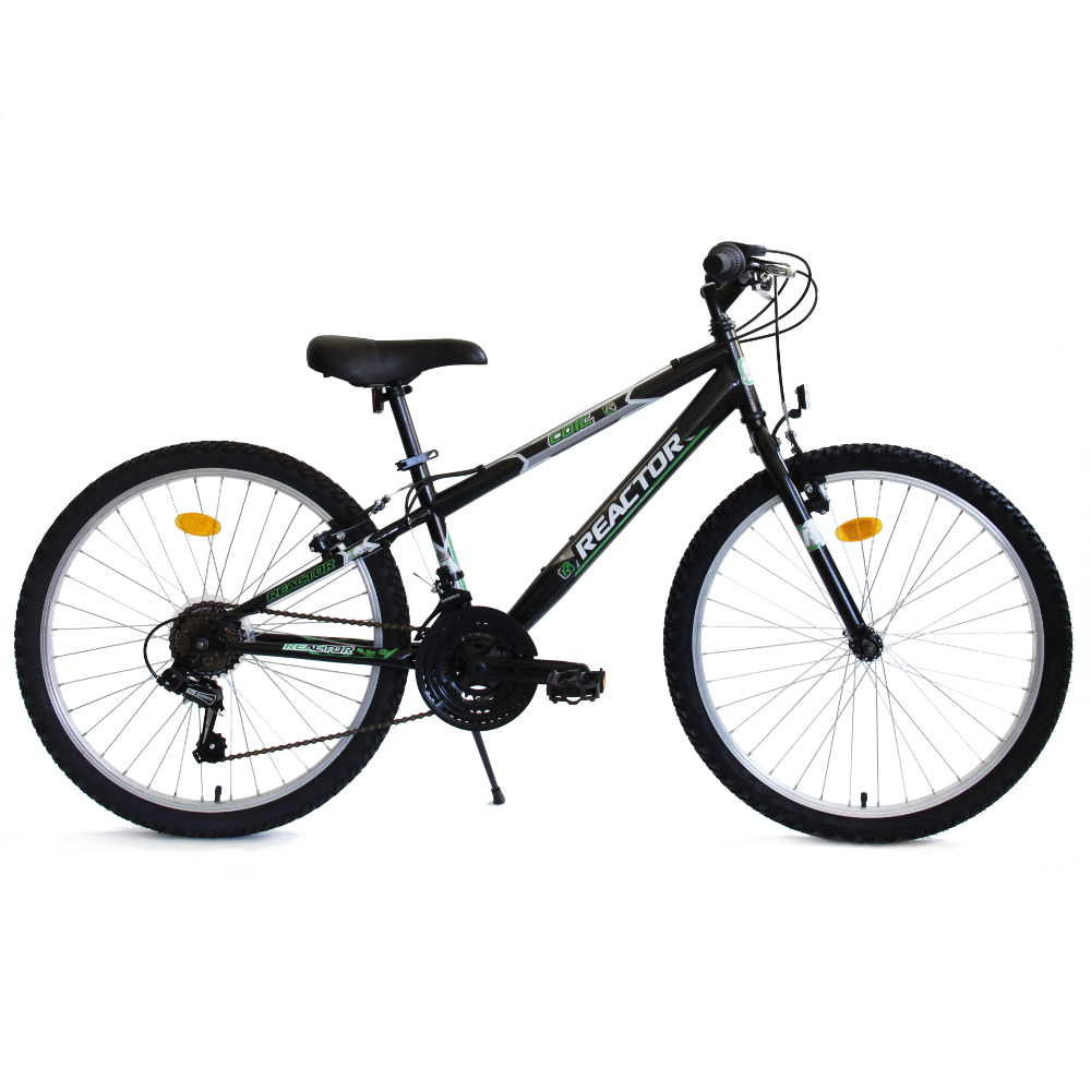 "Juniorský bicykel Reactor Colt 24"" - model 2018 čierna"