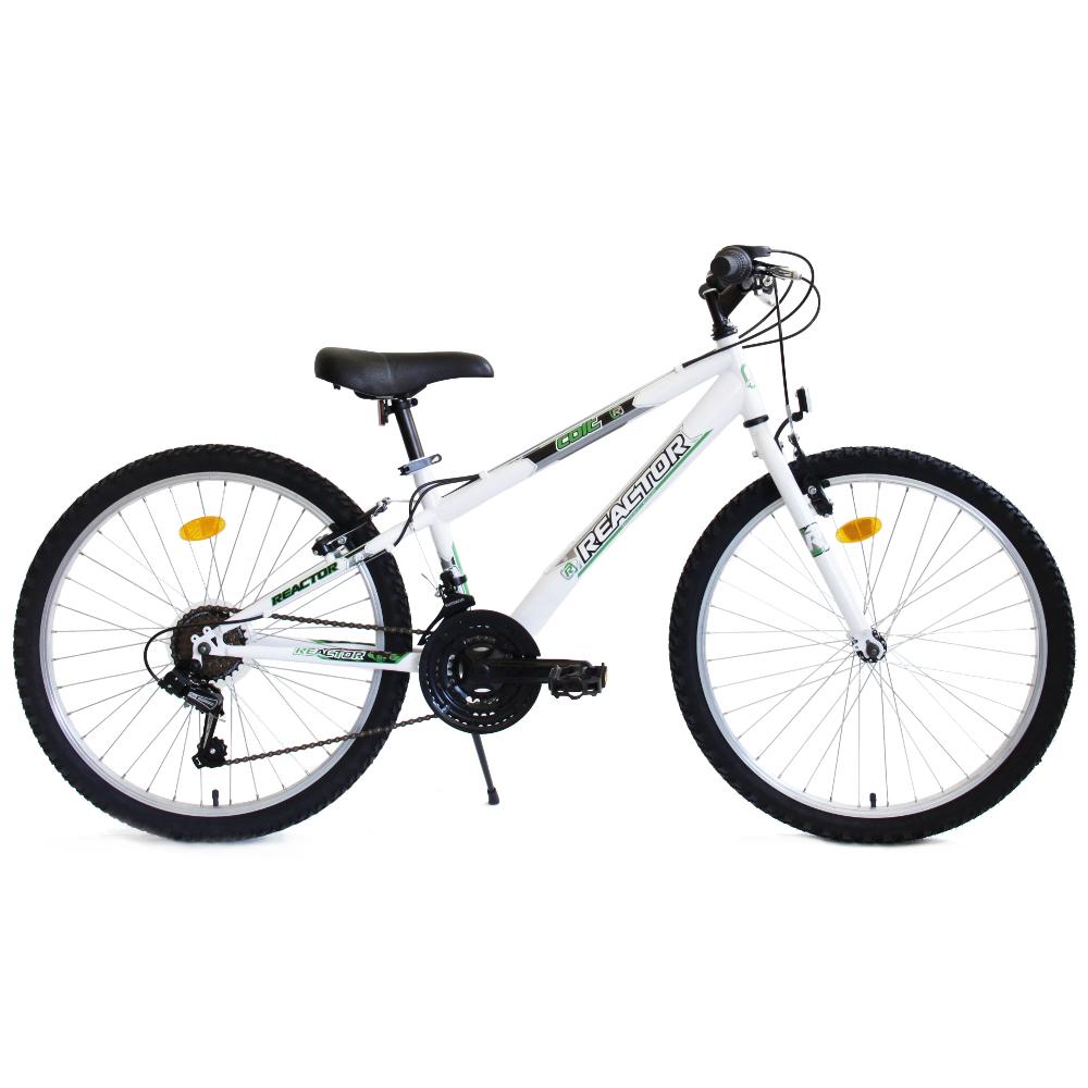 "Juniorský bicykel Reactor Colt 24"" - model 2018 biela"
