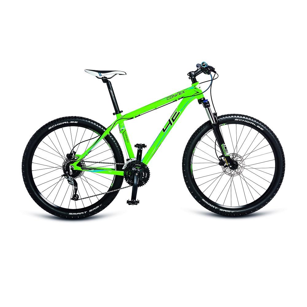 """Horský bicykel 4EVER Convex 27,5'' - model 2018 matne zelená - 19"""" - Záruka 10 rokov"""