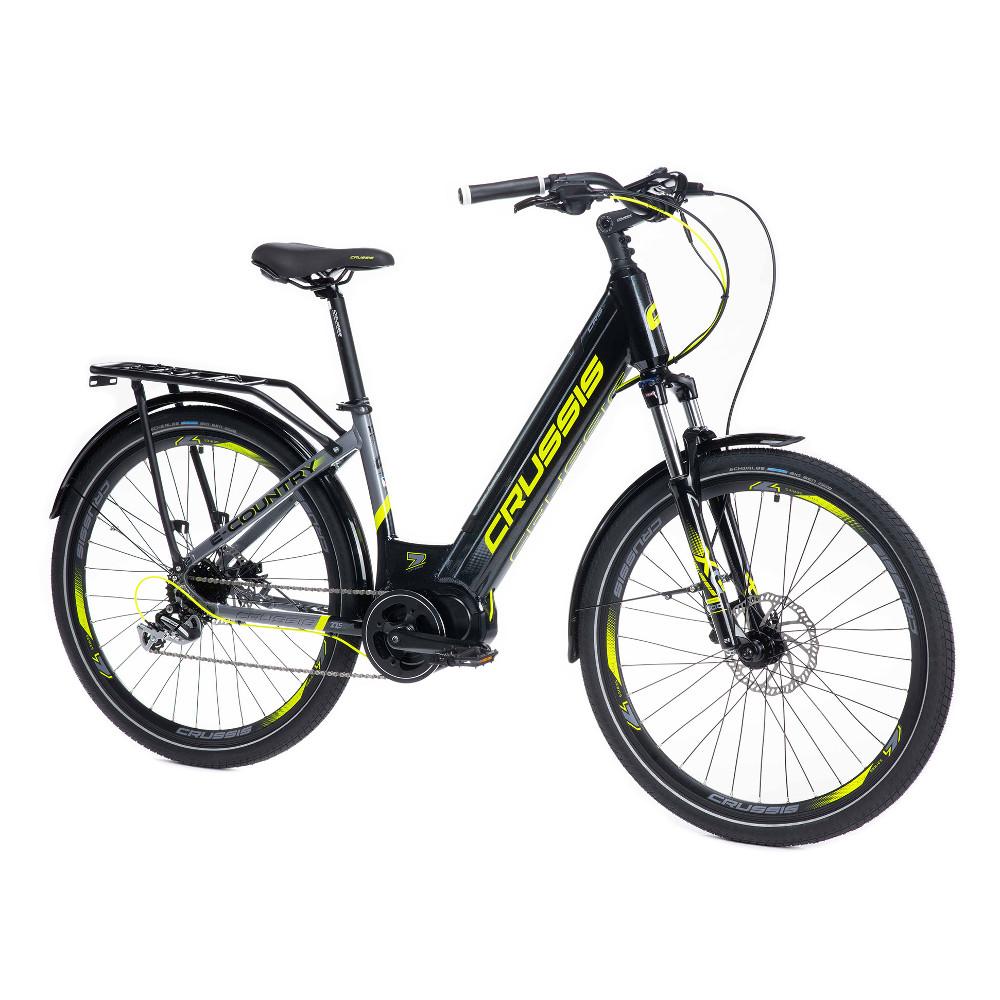 """Mestský elektrobicykel Crussis e-Country 7.6-S - model 2021 17"""" - Záruka 10 rokov"""