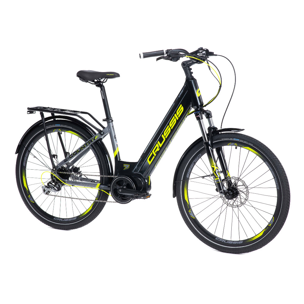 """Mestský elektrobicykel Crussis e-Country 7.6 - model 2021 17"""" - Záruka 10 rokov"""