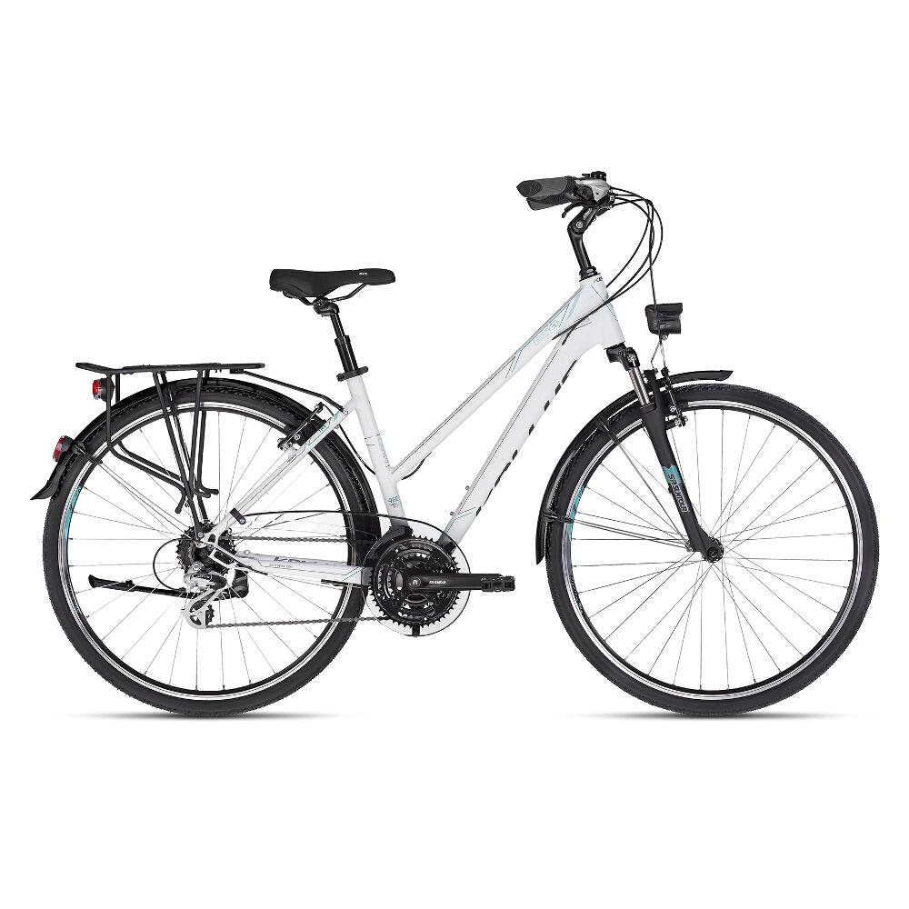 "Dámsky trekingový bicykel KELLYS CRISTY 30 28"" - model 2018 S - Záruka 10 rokov"