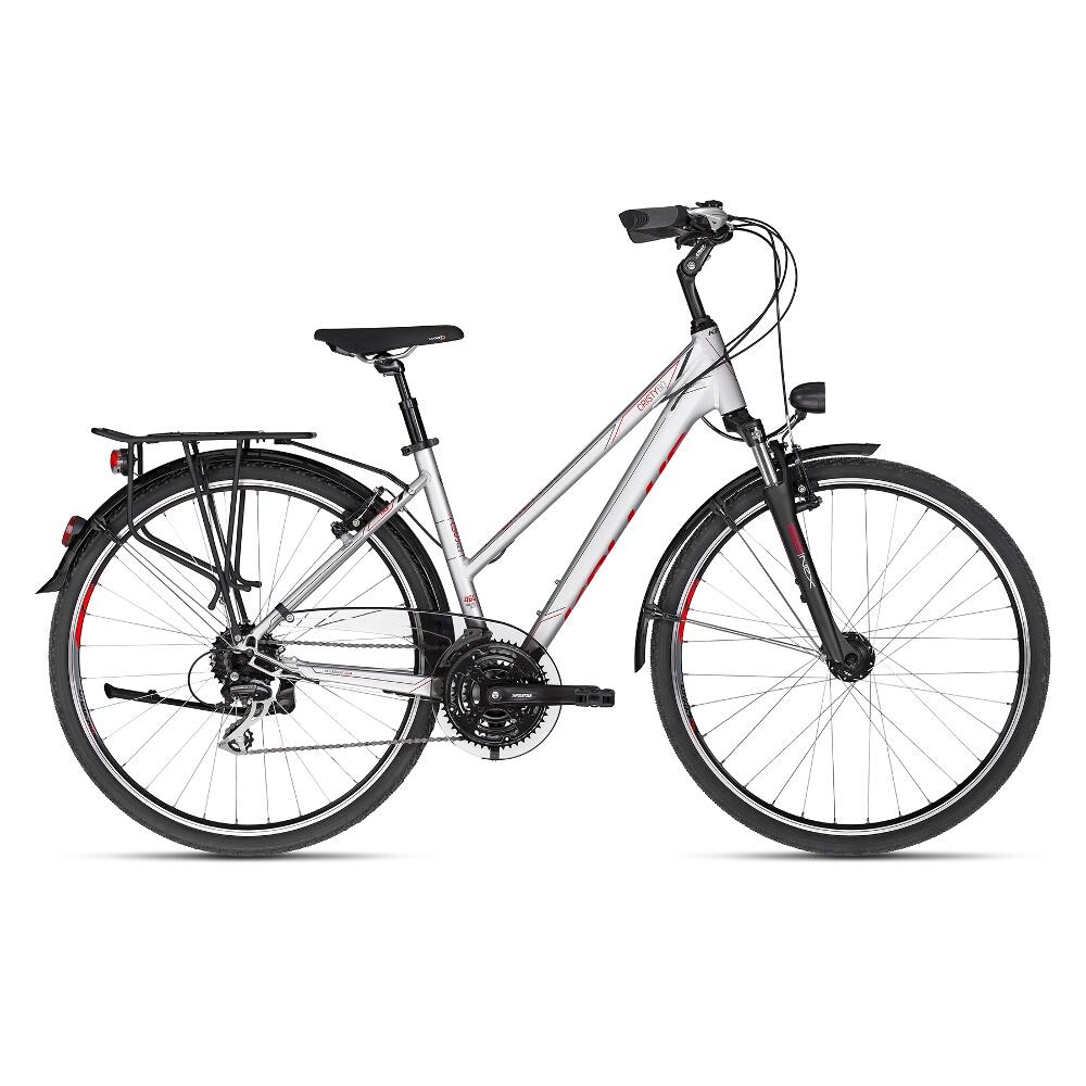 "Dámsky trekingový bicykel KELLYS CRISTY 60 28"" - model 2018 S - Záruka 10 rokov"