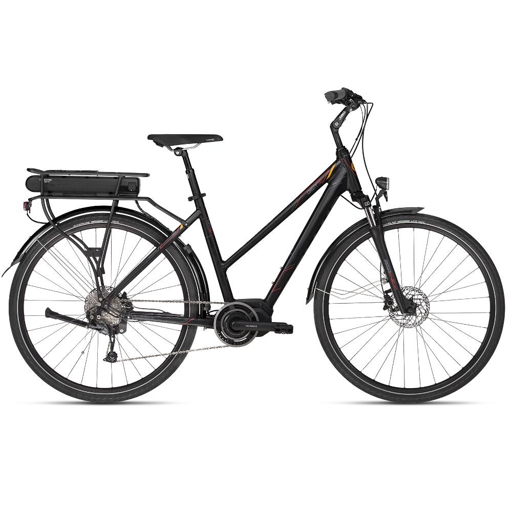 "Dámsky trekingový elektrobicykel KELLYS CRISTY E-90 28"" - model 2018 S (18"") - Záruka 10 rokov"