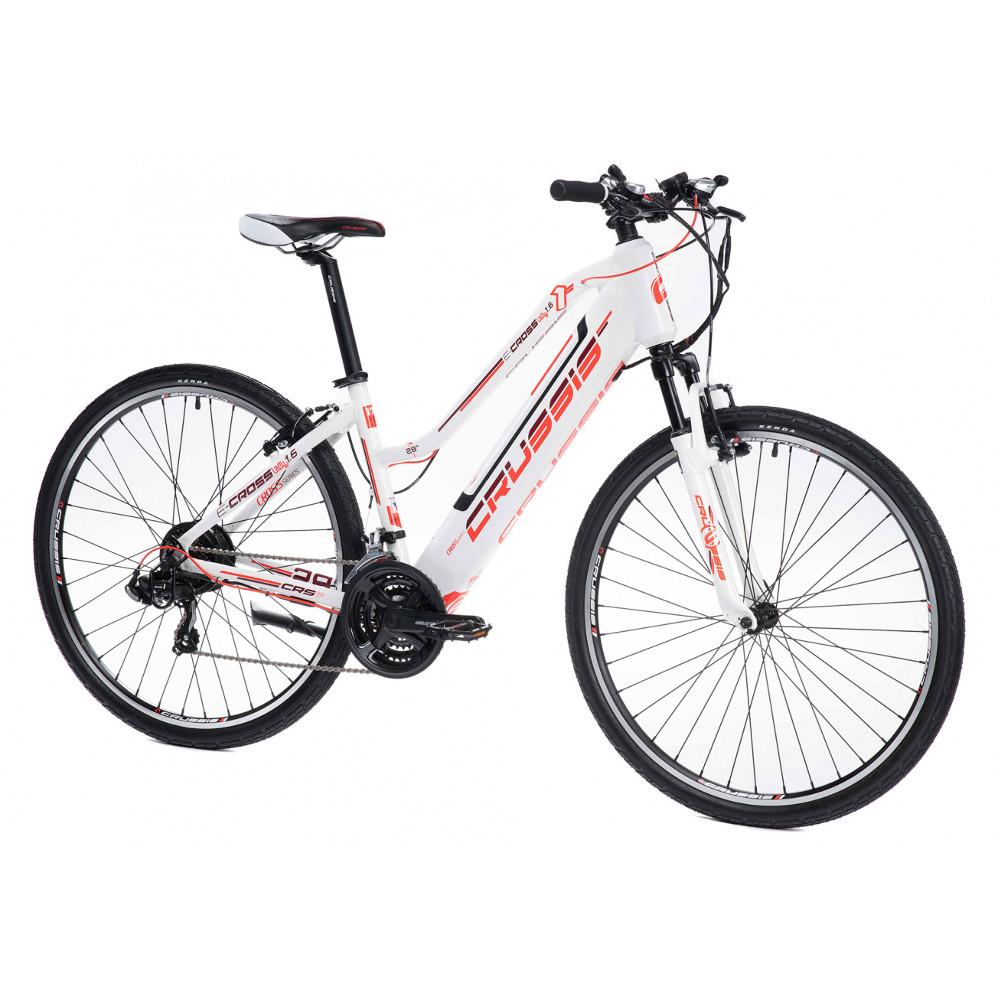 """Dámsky crossový elektrobicykel Crussis e-Cross Lady 1.6 - model 2021 17"""" - Záruka 10 rokov"""