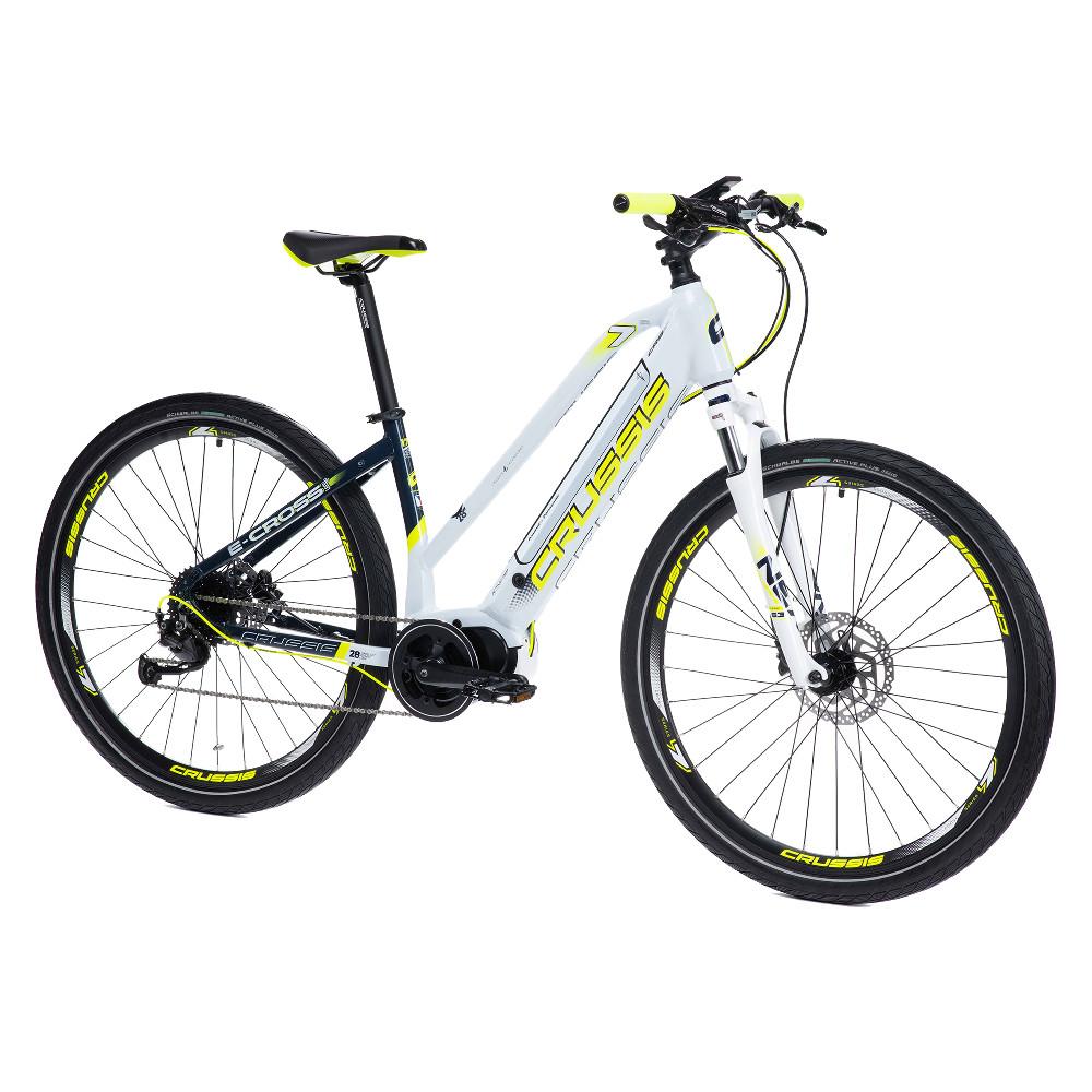 """Dámsky crossový elektrobicykel Crussis e-Cross Lady 7.6-M - model 2021 17"""" - Záruka 10 rokov"""