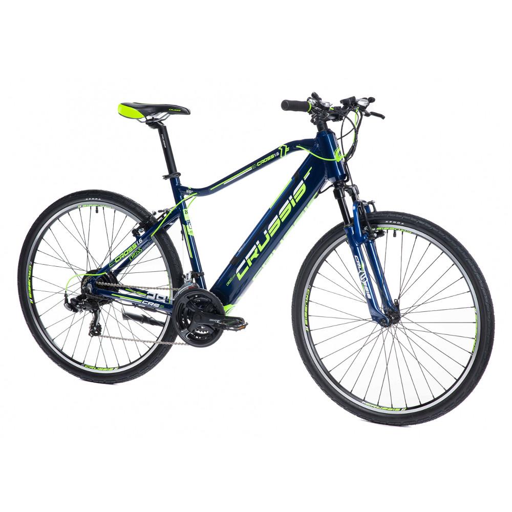 """Pánsky crossový elektrobicykel Crussis e-Cross 1.6-S - model 2021 18"""" - Záruka 10 rokov"""