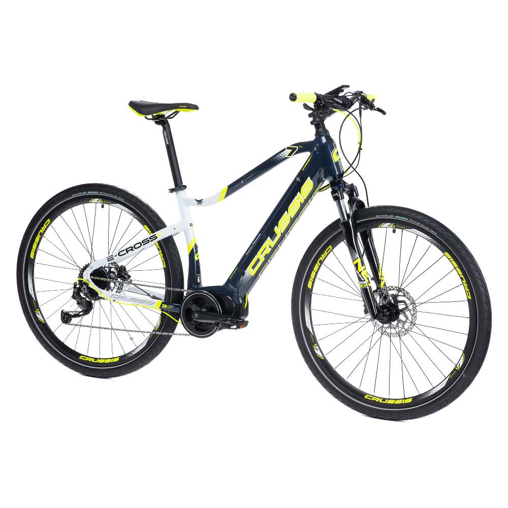 """Crossový elektrobicykel Crussis e-Cross 7.6 - model 2021 18"""" - Záruka 10 rokov"""