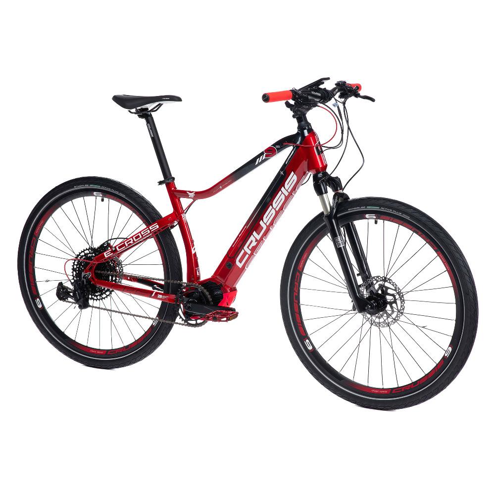"""Crossový elektrobicykel Crussis e-Cross 9.6-M - model 2021 18"""" - Záruka 10 rokov"""