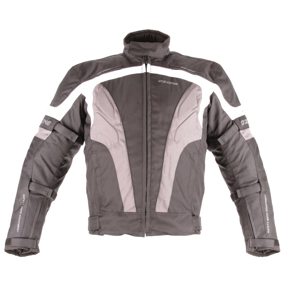 Moto bunda Ozone Delta II - čierno-šedá