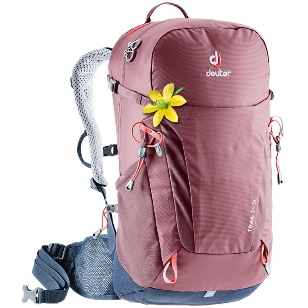 Turistický batoh DEUTER Trail 24 SL maron-navy