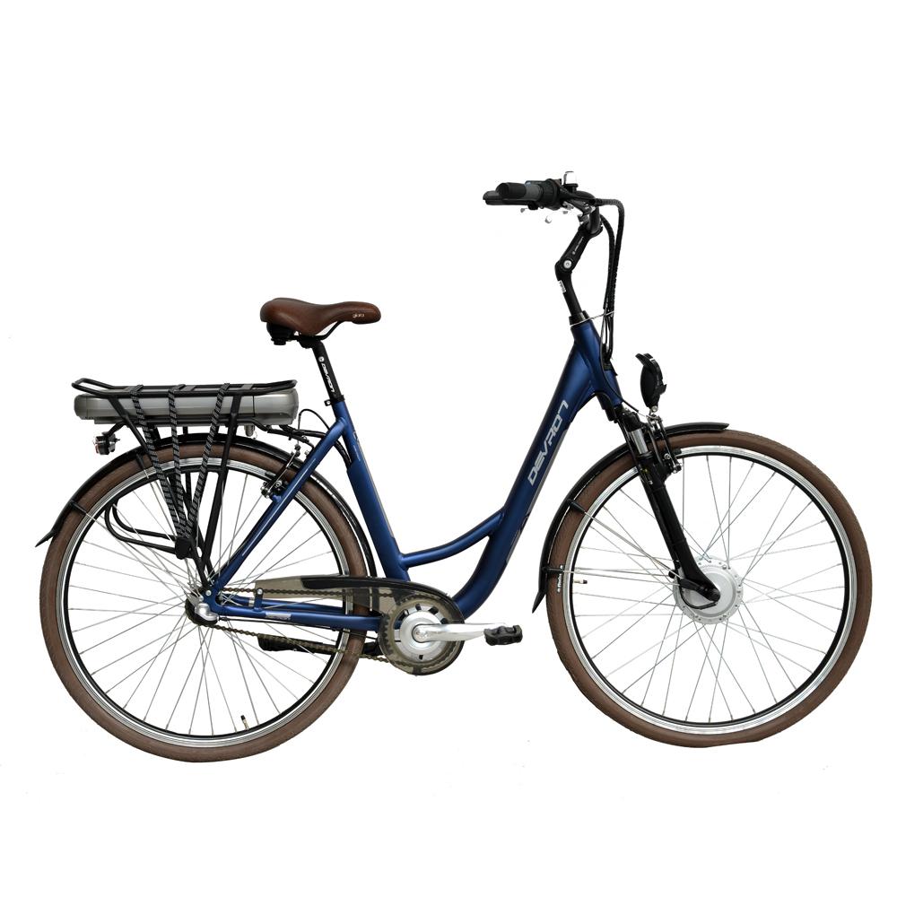 "Mestský elektrobicykel Devron 28120 Metallic Blue - 19,5"" - Záruka 10 rokov"