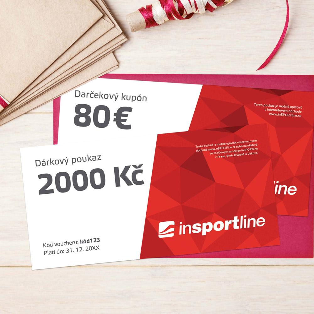 Darčekový kupón - 80 € pre nákup na eshope