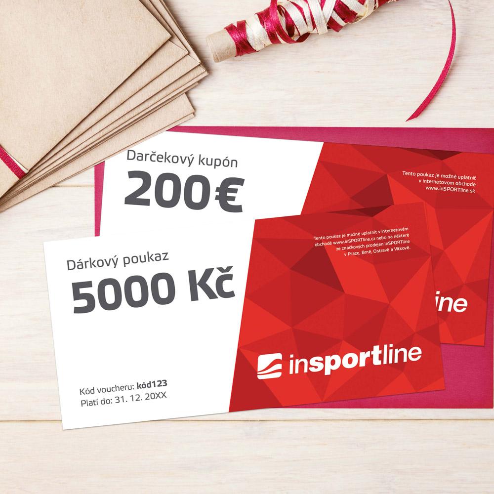 Darčekový kupón - 200 € pre nákup na eshope