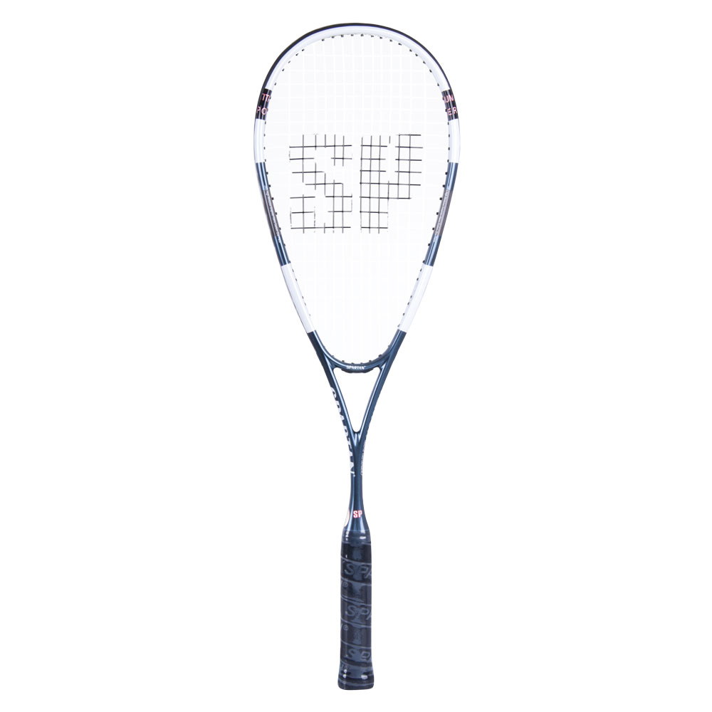 Squashová raketa Spartan Titan-Power čierno-biela