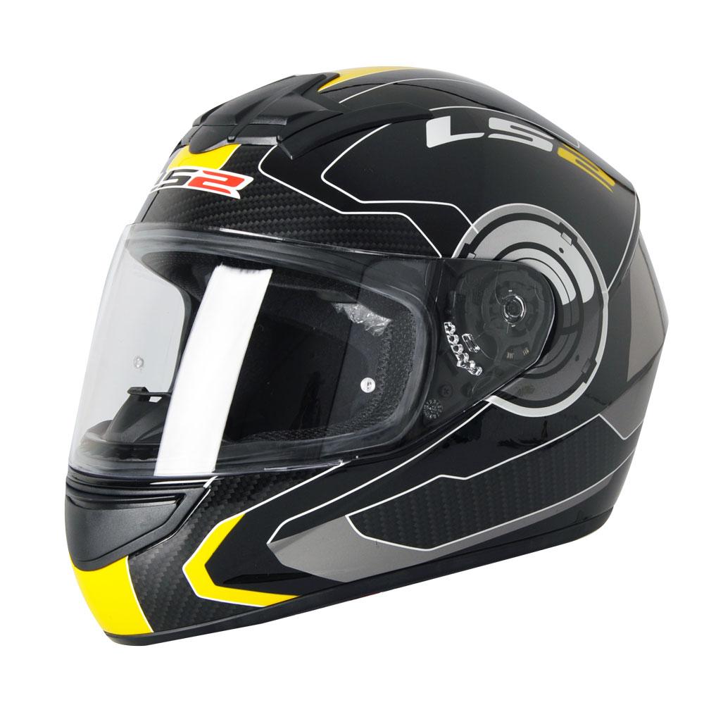 Prilba na motorku LS2 FF351 Atmos čierno-žltá - XL (61-62) ed82f865d11