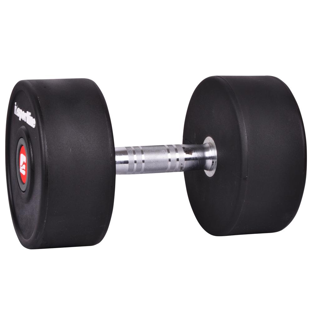 Jednoručná činka inSPORTline Profi 22 kg
