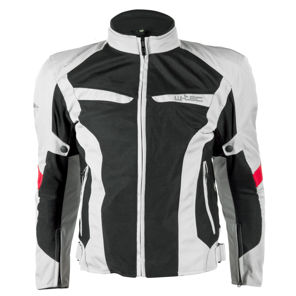 Pánska moto bunda W-TEC Ventex Light Grey - L