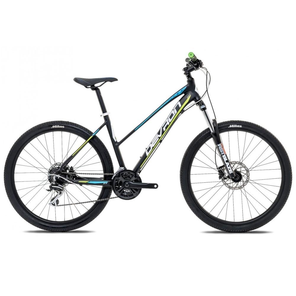 "Dámsky horský bicykel Devron Riddle LH1.9 29"" - model 2017 Dark Lime - 18"" - Záruka 10 rokov"