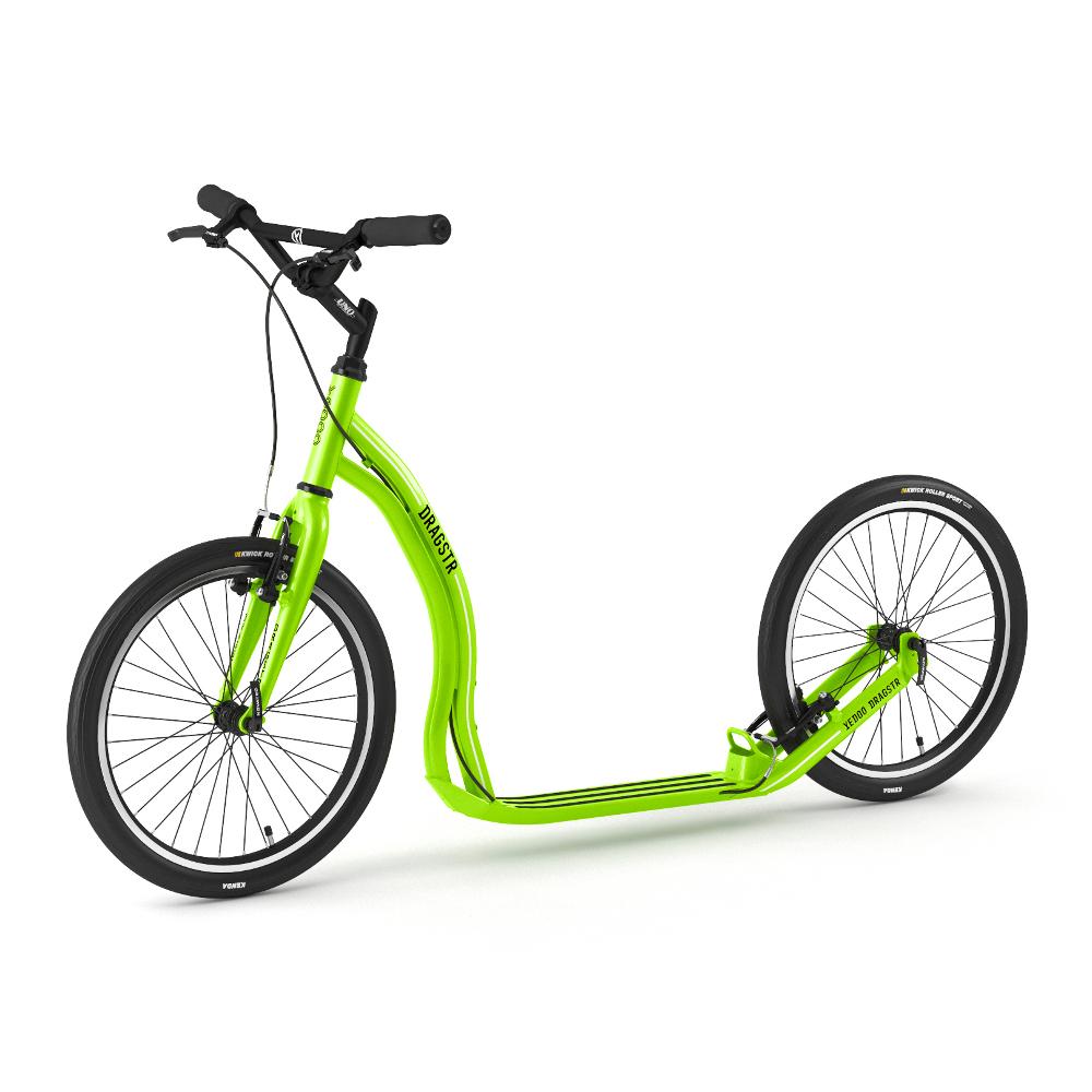Kolobežka Yedoo Dragstr 2020 zelená - Záruka 5 rokov