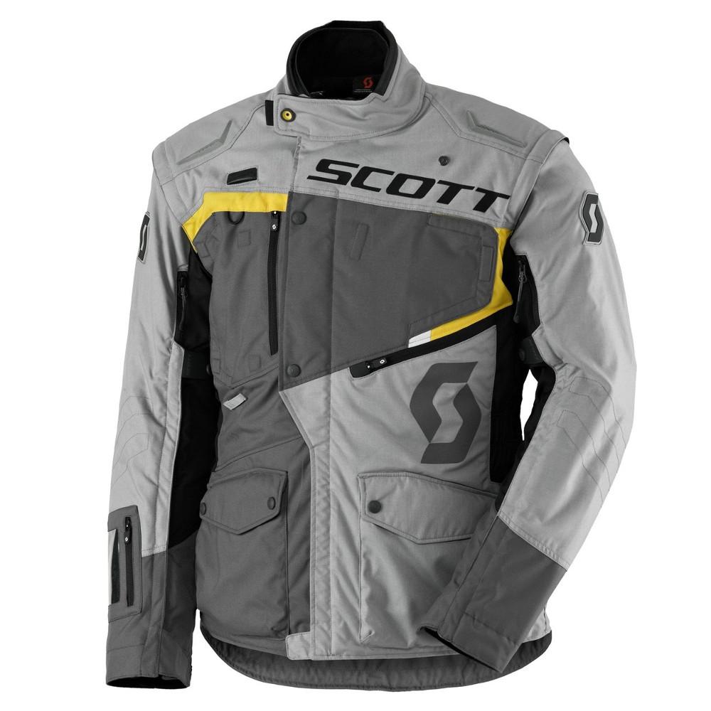 Moto bunda SCOTT Dualraid DP grey-yellow - XXL (58)