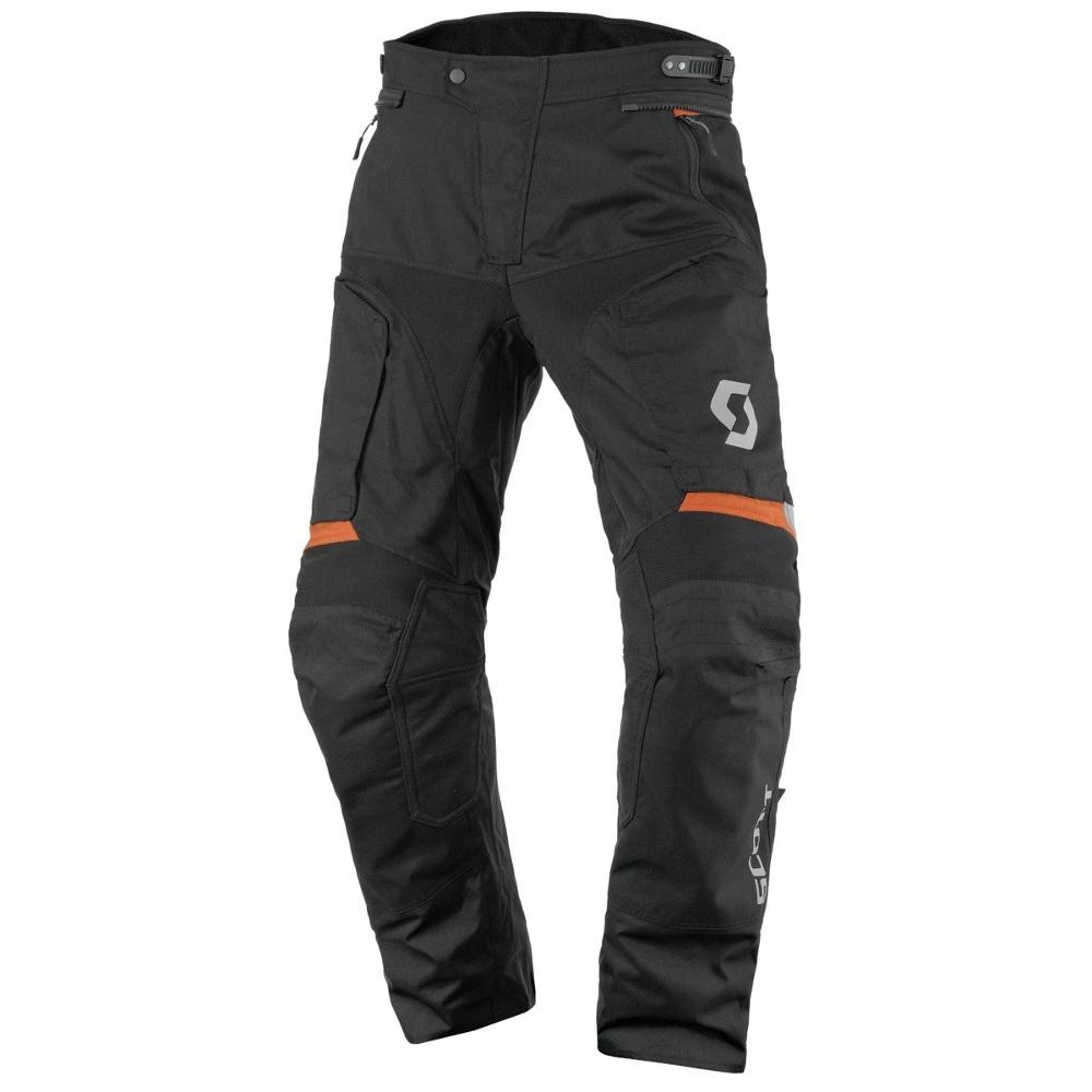 Moto nohavice SCOTT Dualraid DP Black-Orange - XXL (38)