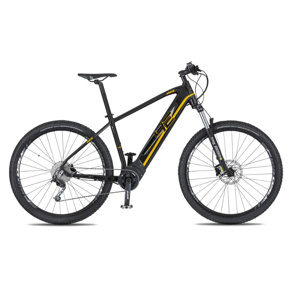 """Horský elektrobicykel 4EVER Ennyx 3 27,5"""" Plus - model 2020 čierna/zlatá - 15,5"""" - Záruka 10 rokov"""