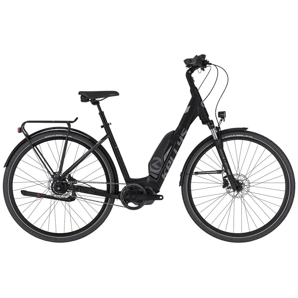 """Mestský elektrobicykel KELLYS ESTIMA 50 28"""" - model 2020 Black - M (19'') - Záruka 10 rokov"""