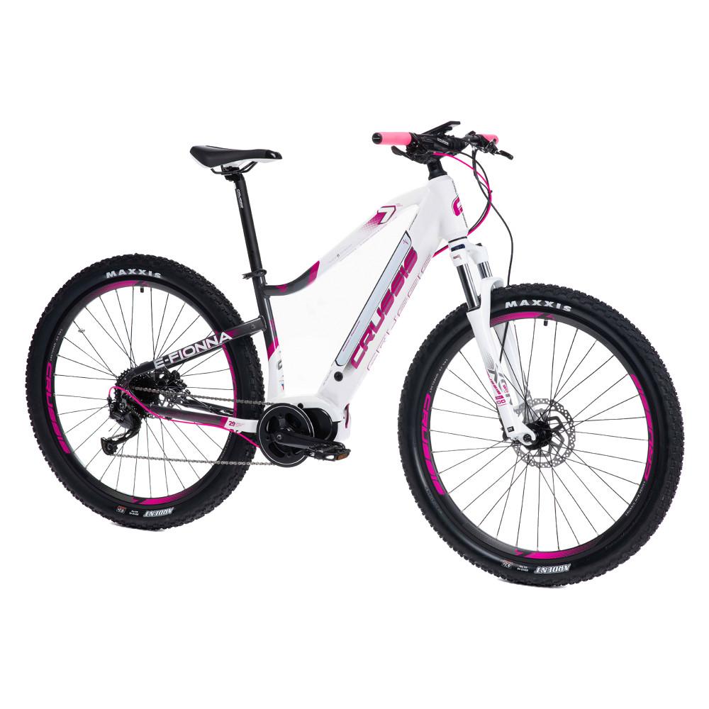 """Dámsky horský elektrobicykel Crussis e-Fionna 7.6-M - model 2021 17"""" - Záruka 10 rokov"""
