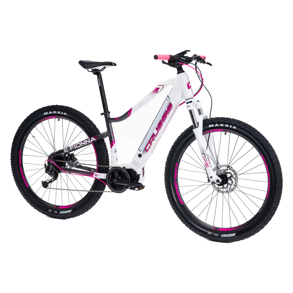 """Dámsky horský elektrobicykel Crussis e-Fionna 7.6-L - model 2021 17"""" - Záruka 10 rokov"""