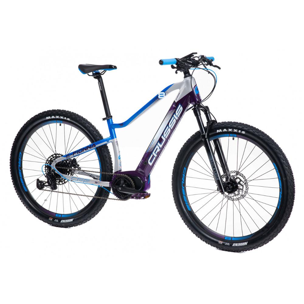"""Dámsky horský elektrobicykel Crussis e-Fionna 8.6-M - model 2021 17"""" - Záruka 10 rokov"""
