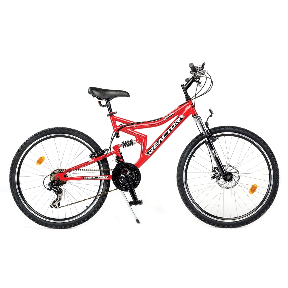 "Celoodpružený bicykel Reactor Flex 26"" - model 2015"